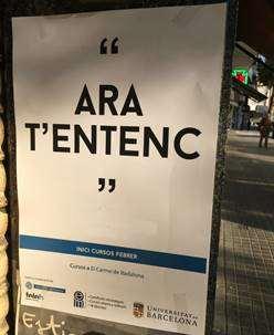 carteles universidad de barcelona