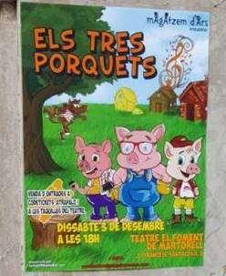 obras de teatro infantil en barcelona