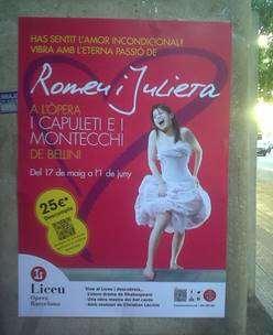 publicidad con carteles en barcelona