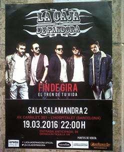 publicidad para conciertos barcelona