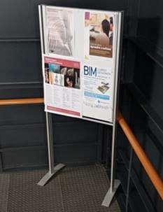 reparto de publicidad en universidades
