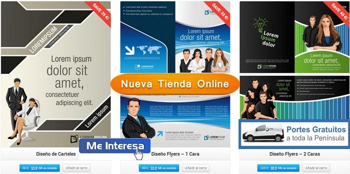 tienda online de publicidad