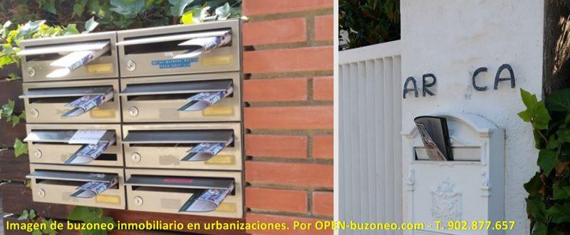 buzoneo en urbanizaciones
