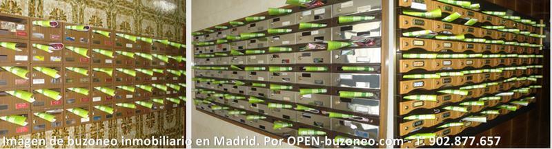 buzoneo inmobiliario en Madrid