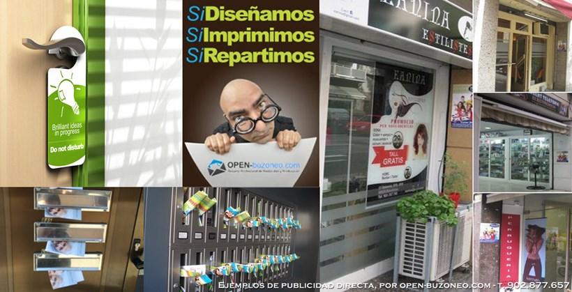 ejemplos de publicidad directa