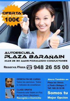 publicidad pamplona autoescuela